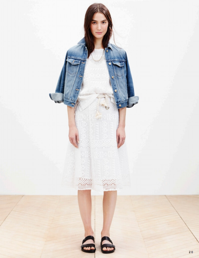 Madewell's spring 2015 lookbook is here!