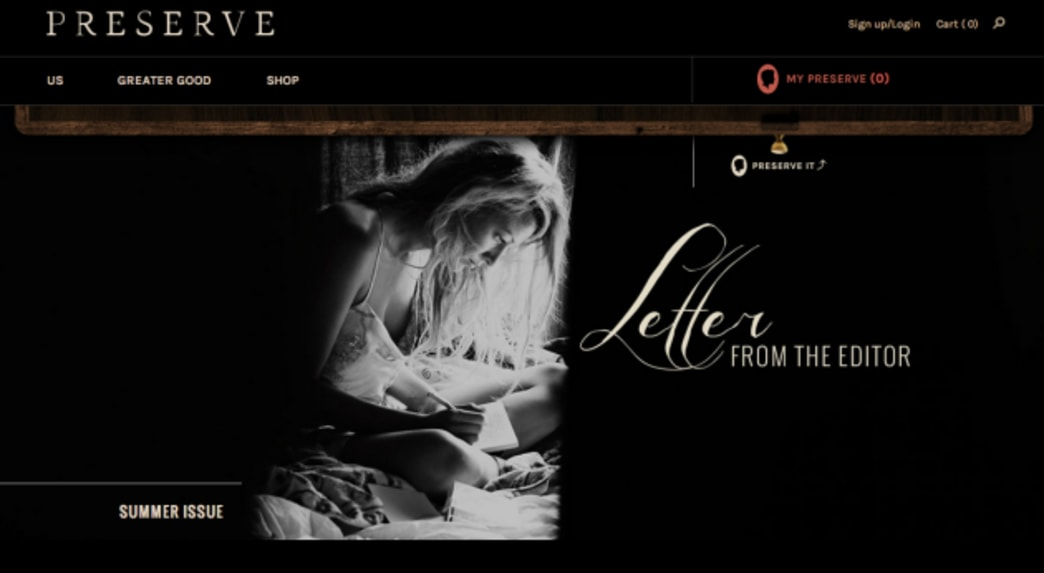 Blake Lively launches lifestyle website 'Preserve'