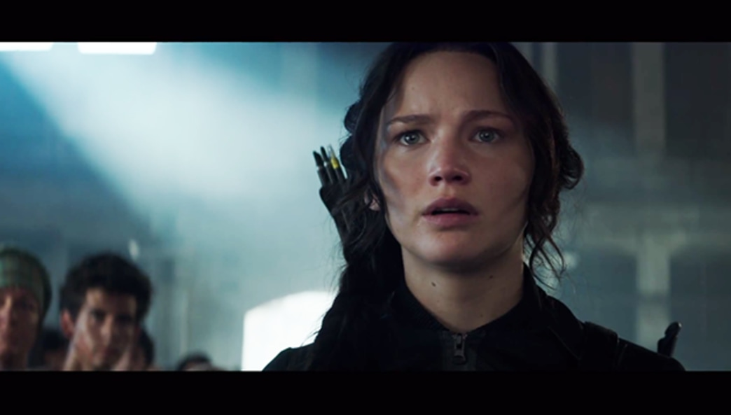 See the official Hunger Games: MockingJay teaser trailer!