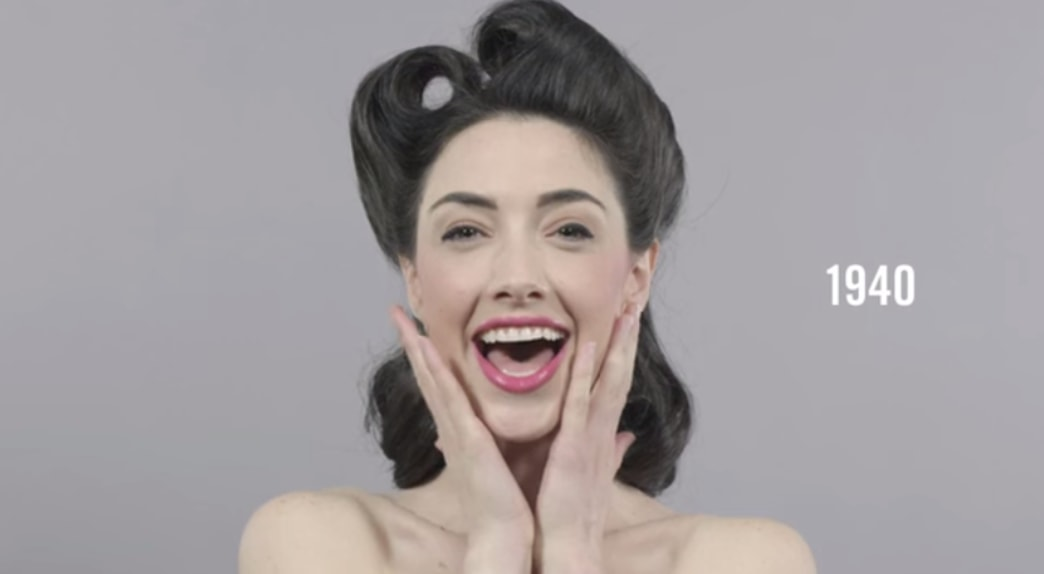 Viral video: 100 years of beauty in 1 minute