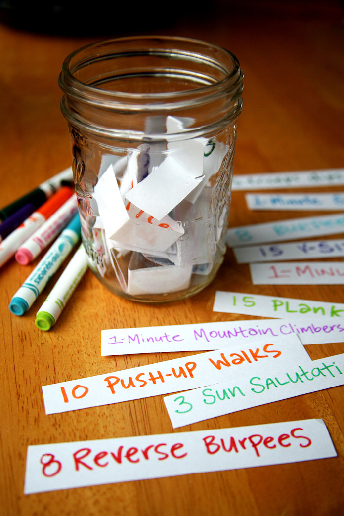 Jump-start your metabolism with a motivational mason jar
