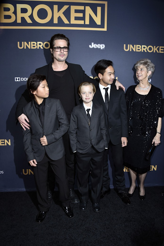 Shiloh Jolie-Pitt is really cute in her suit and tie