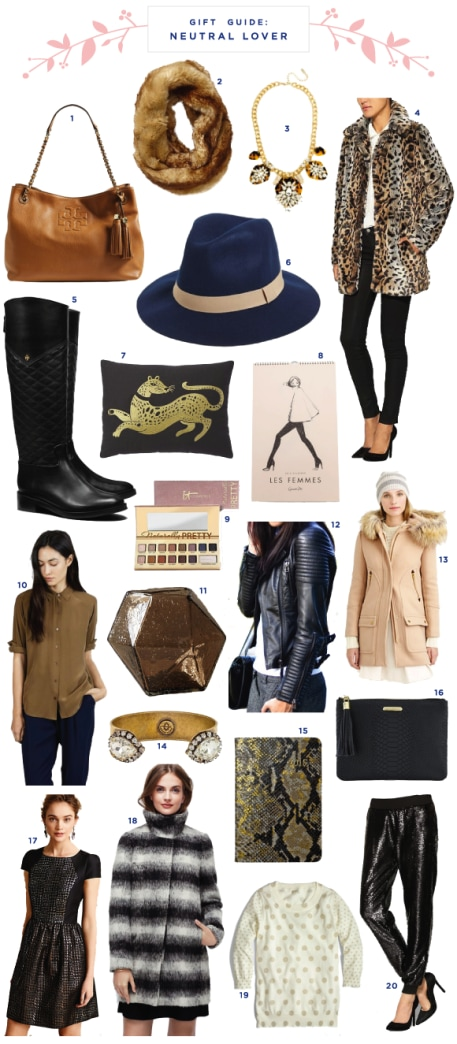 Holiday gift guide: For the neutral lover