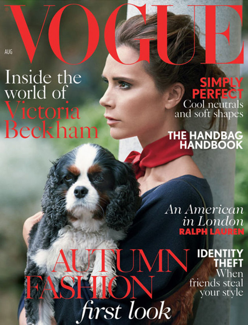 Top 9 at 9: Victoria Beckham for Vogue UK and more news