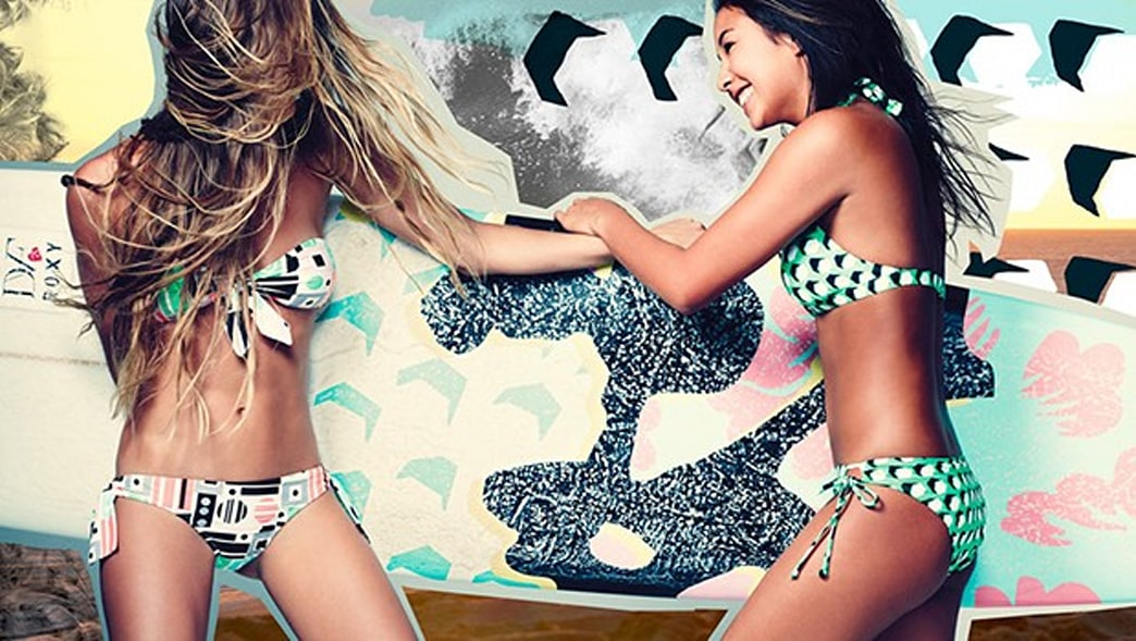 DVF & Roxy Collaboration Has Us Ready to Hit The Beach