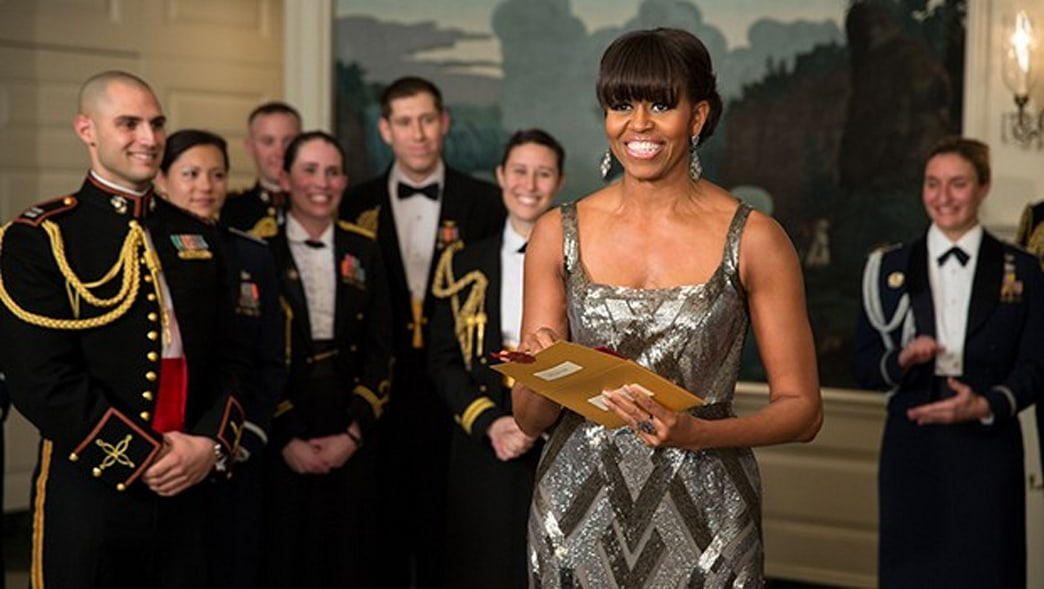 Michelle Obama Makes Surprise Appearance at 2013 Oscars