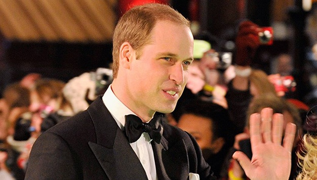 Chic in Black: Prince William Attends the Royal Hobbit Premiere Sans Kate Middleton