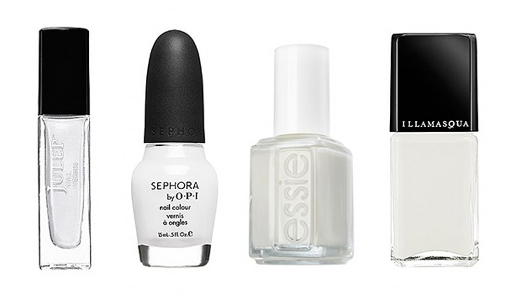 3 Ways to Wear White Nail Polish This Spring