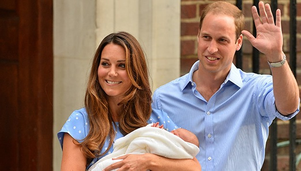 Kate Middleton using personal family photos as official Royal Baby portrait
