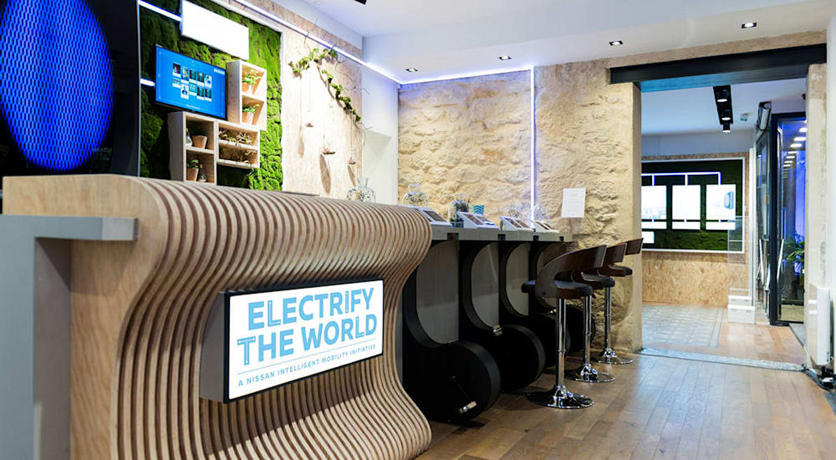 There's A Cafe In Paris Where You Can Only Pay With Energy