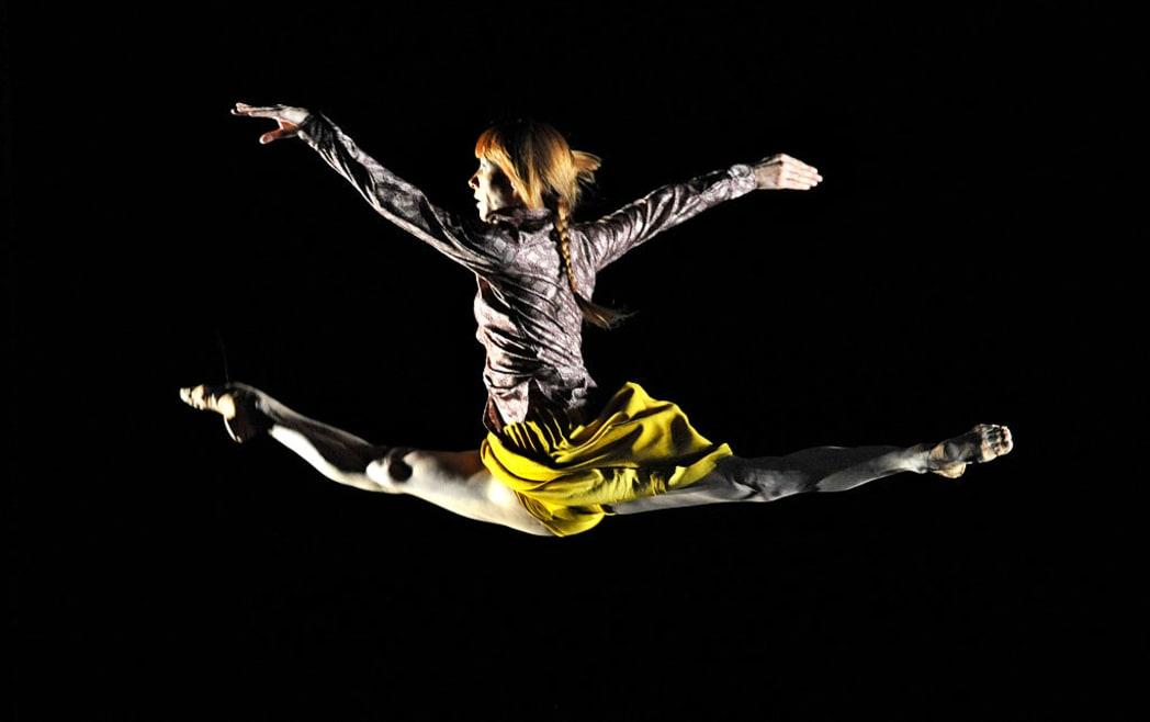 La bailarina que cambió los escenarios por el activismo ambiental