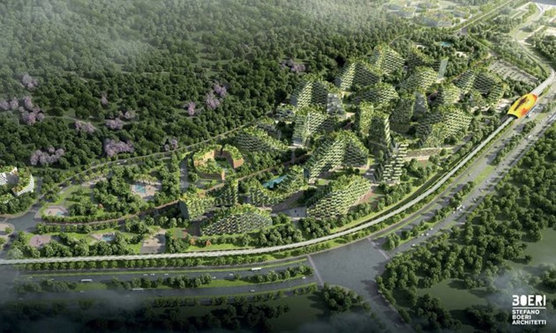 China Is Building A 'Forest City' And It Looks Absolutely Incredible
