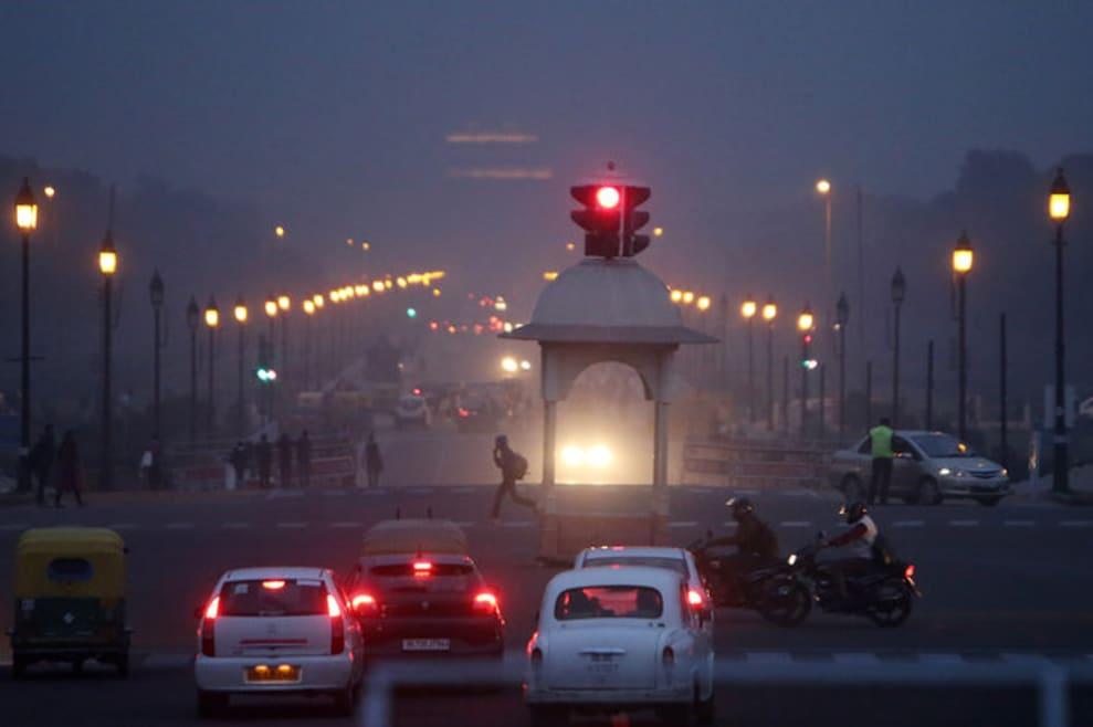 La contaminación atmosférica mata a más de un millón de personas al año en India