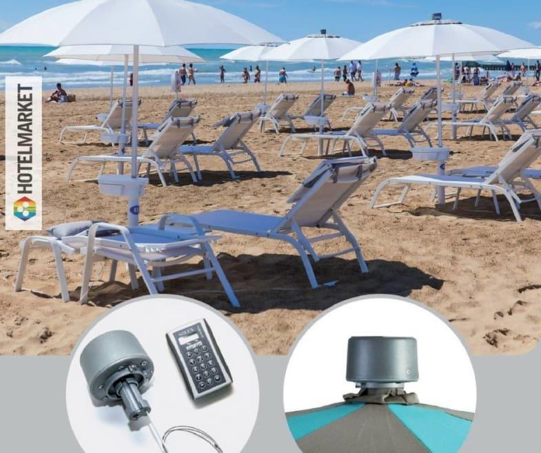 L'ombrellone si apre con il Sole: a Jesolo il primo stabilimento balneare che sfrutta l'energia solare