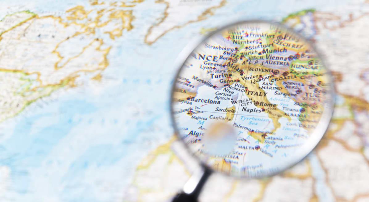 La roulette geografica