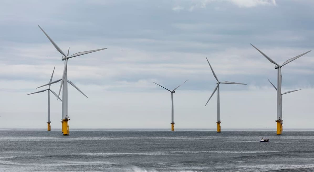 Offshore Wind Energy Just Reached An Incredible Milestone In The UK