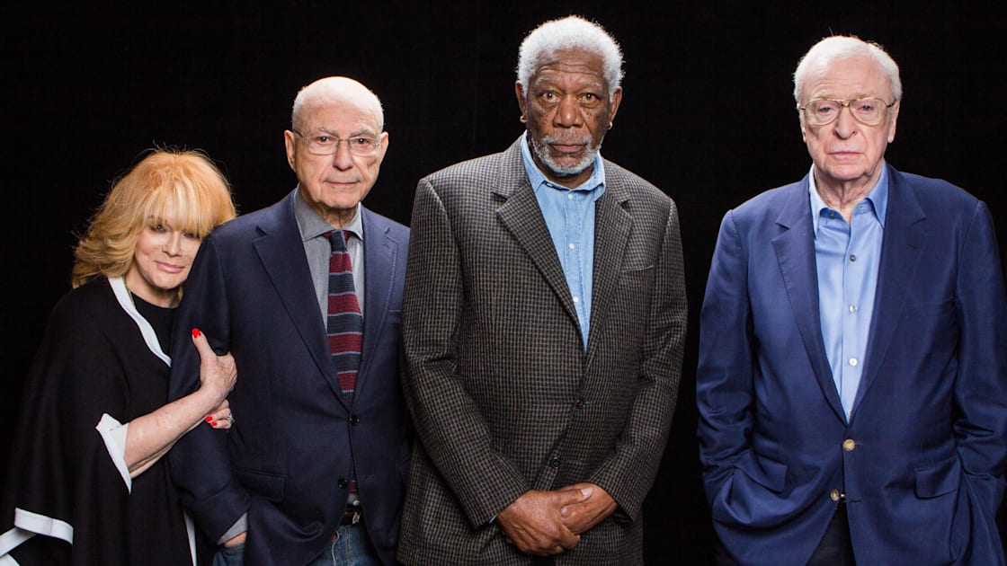 Wallpaper Going In Style Morgan Freeman Alan Arkin: Alan Arkin, Michael Caine, Morgan Freeman And Ann-Margret