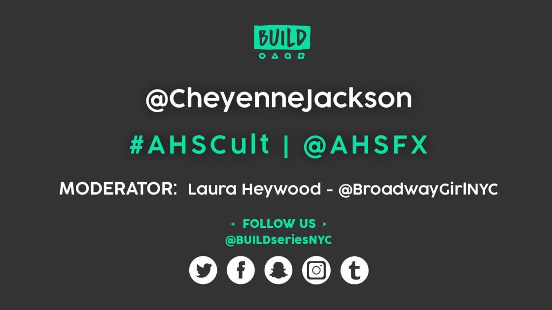 Cheyenne Jackson LIVE on BUILD Series