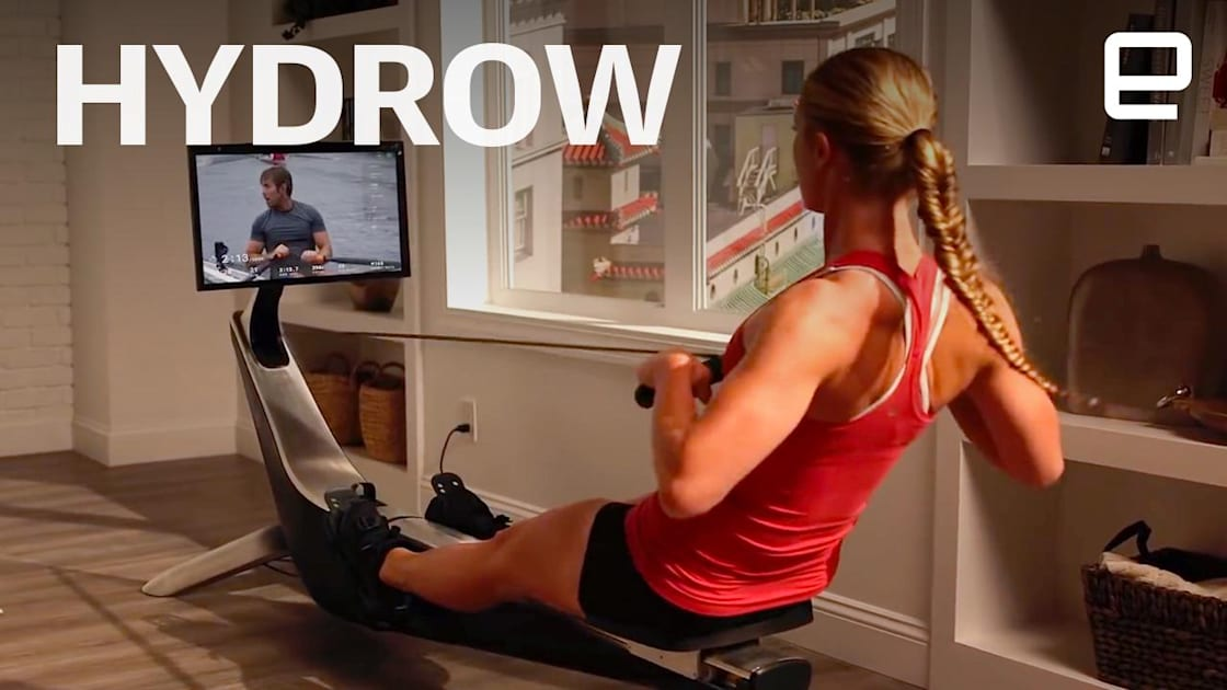 QnA VBage Hydrow could be the Peloton of rowing machines