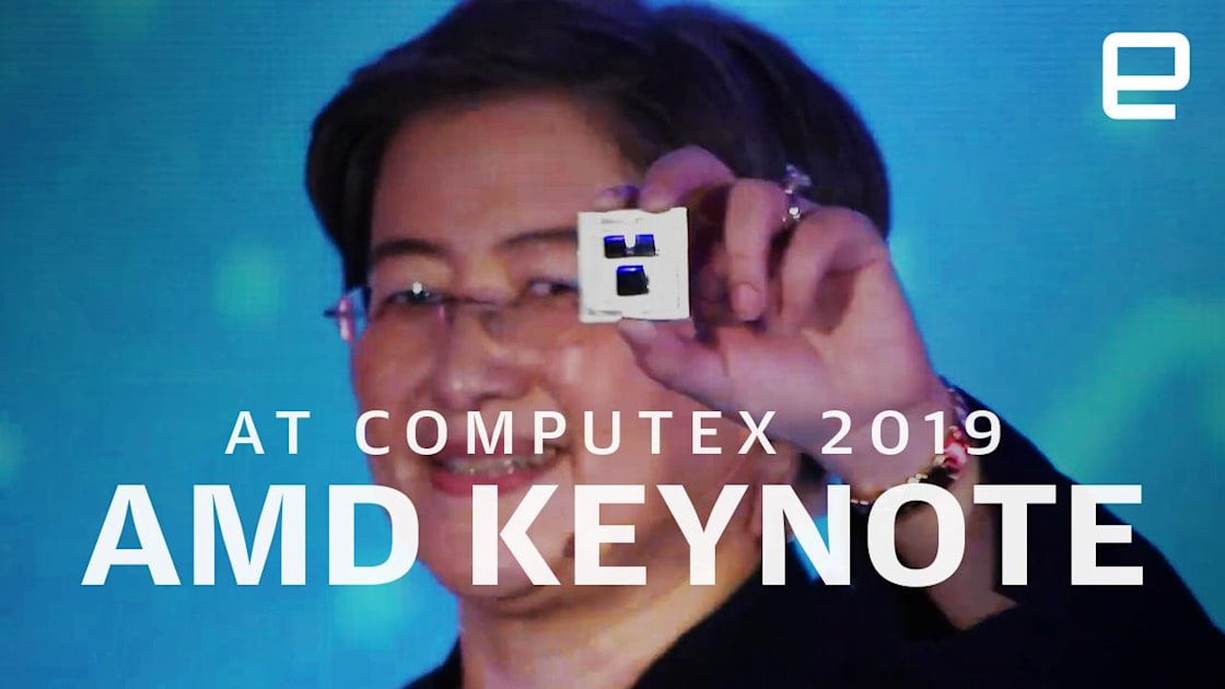 Watch AMD's Computex 2019 event in nine minutes! 1