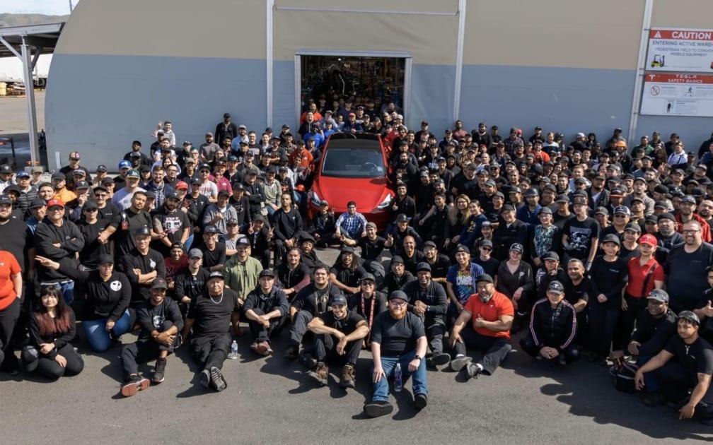 Tesla's one millionth car is a Model Y 1