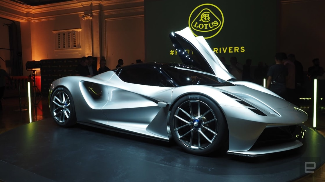 Lotus has already sold out of its electric hypercar for 2020 1