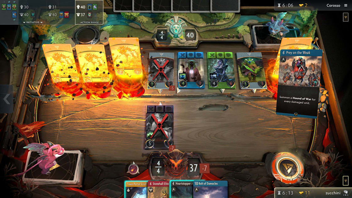 Valve's card game 'Artifact' is reportedly getting a reboot