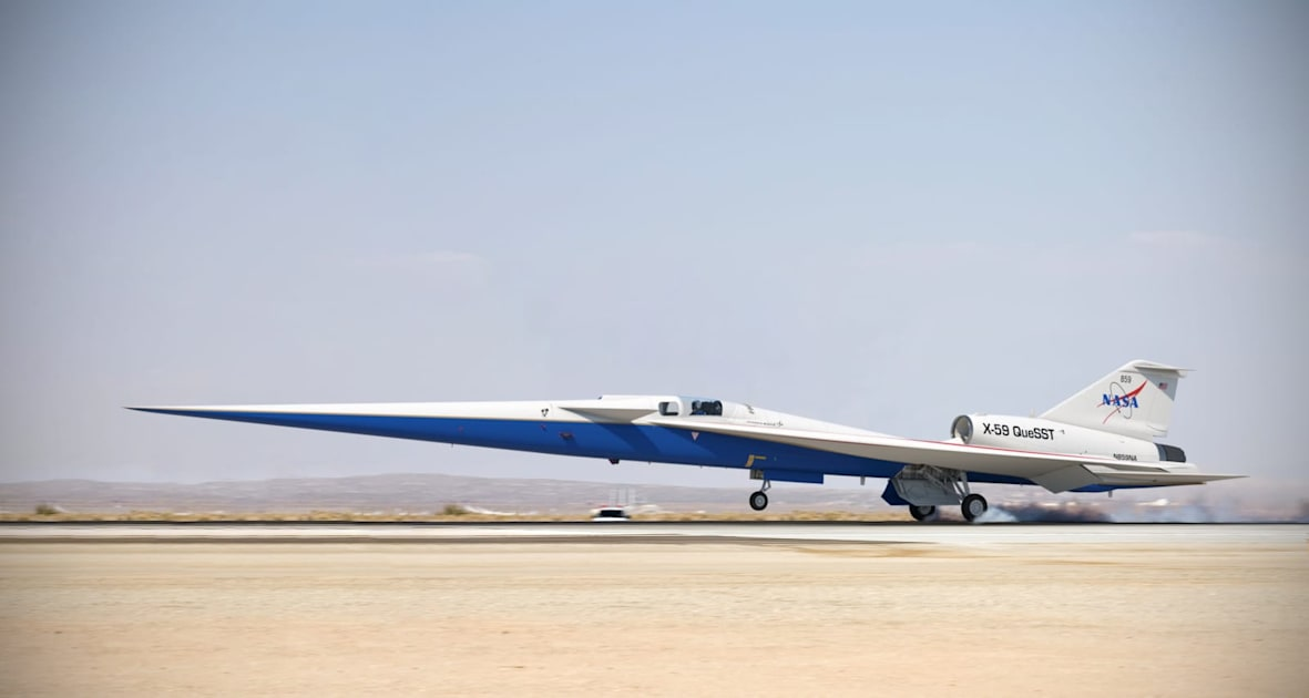 NASA's X-59 supersonic jet is cleared for final assembly