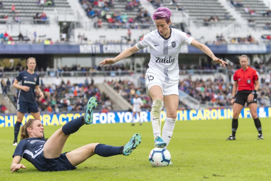 NWSL soccer matches will stream on CBS All Access and Twitch