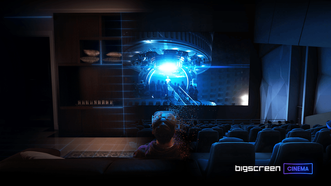 VR movie-watching service Bigscreen will offer Paramount films