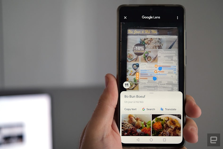 Google Maps borrows Lens tech to highlight popular restaurant dishes