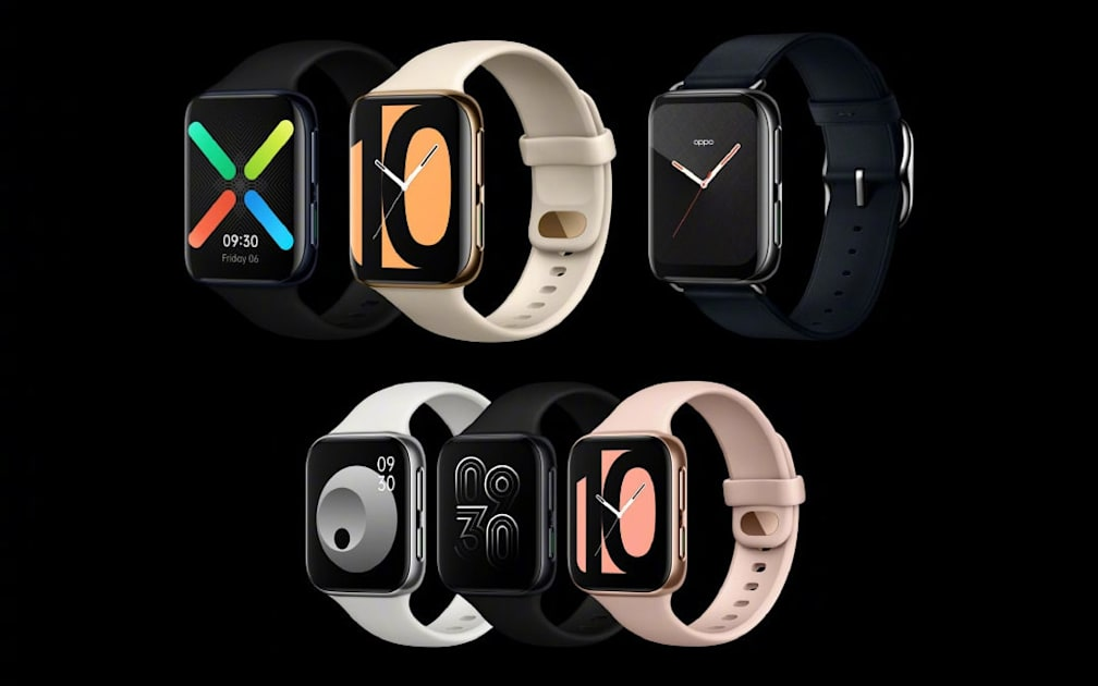 Oppo's first Android smartwatch borrows a lot from Apple