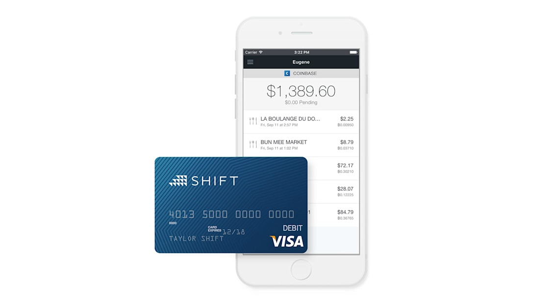 Shift is a debit card for your bitcoin wallet | Engadget