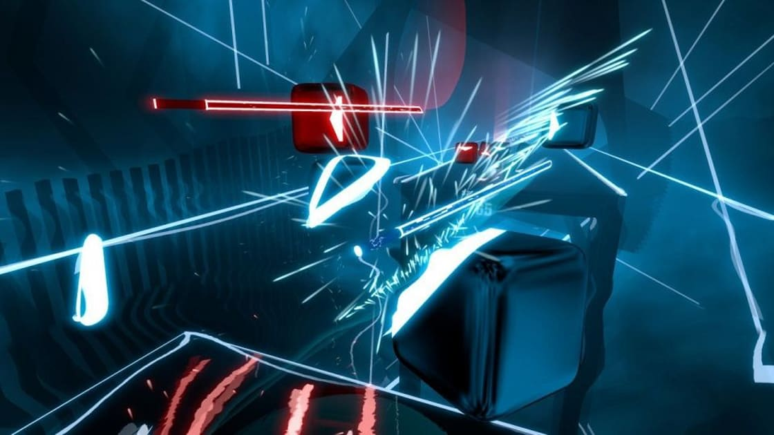 'Beat Saber' now has an official song designed to keep you fit 1
