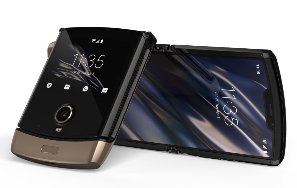 Motorola's Razr is still $1,500 but now you can get it in'blush gold' 1