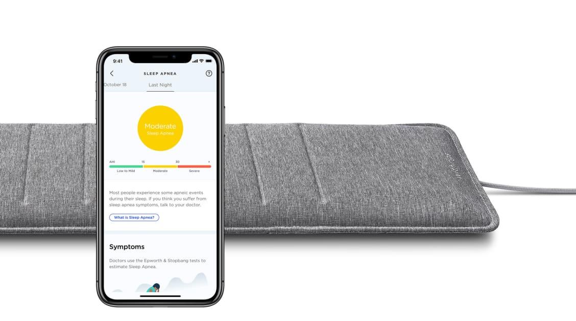Withings adds sleep apnea tracking to its mattress sensor