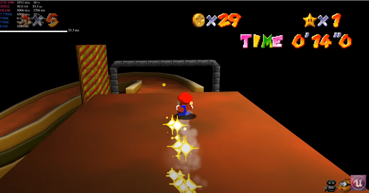 'Super Mario 64' fan releases a fully playable 4K port for PC