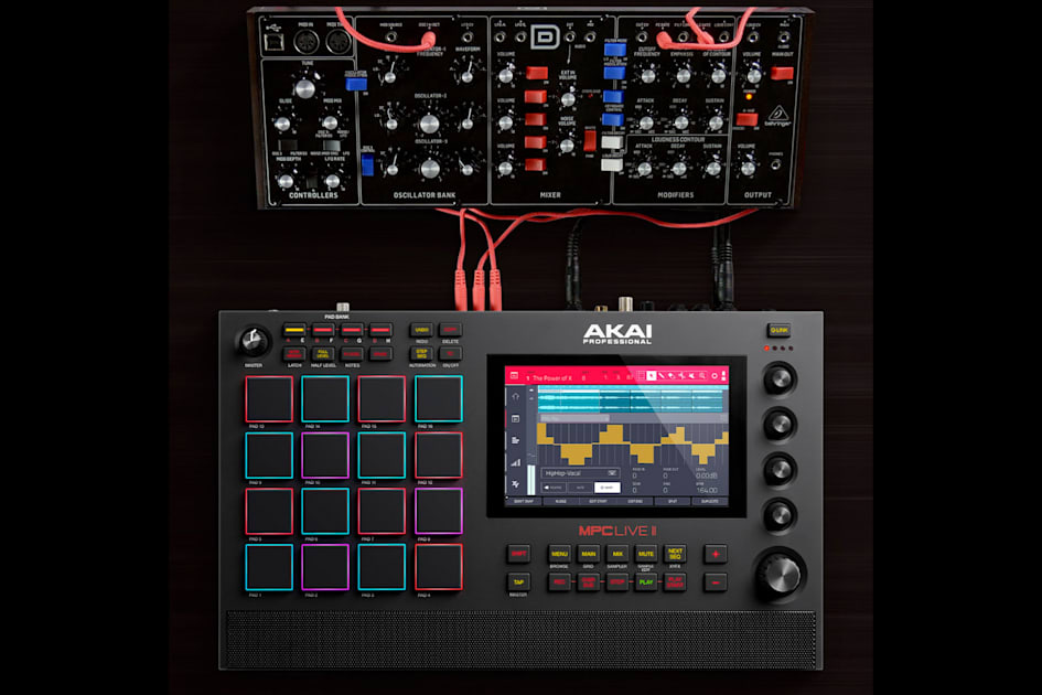 Akai's MPC Live II is a portable studio with built-in speakers