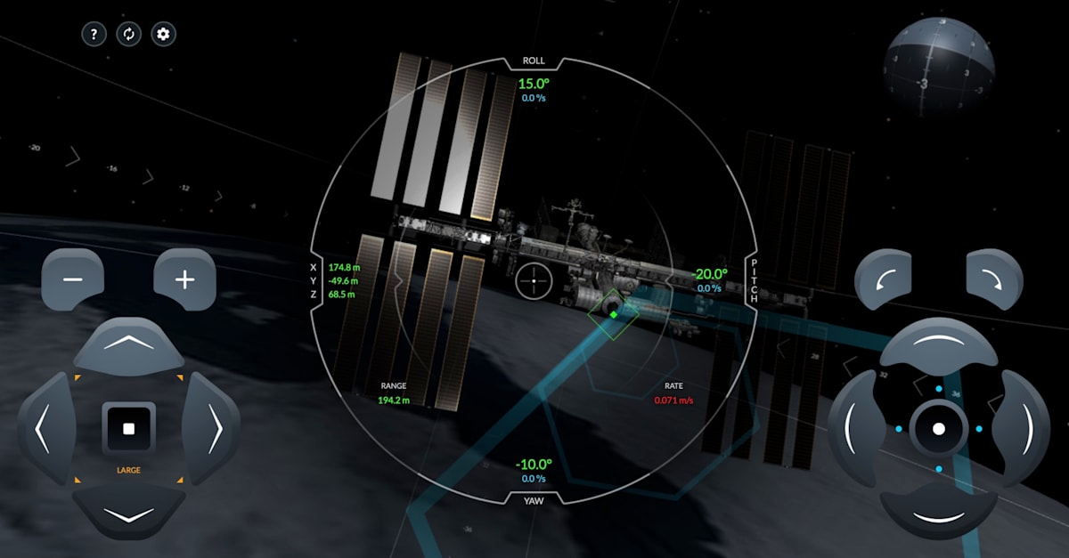 SpaceX Crew Dragon simulator shows what it's like to dock with the ISS 1