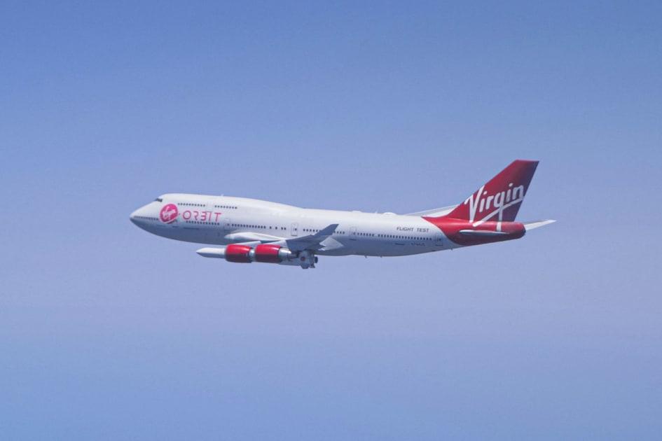 Virgin Orbit's first launch demo flight ends abruptly after rocket release 1