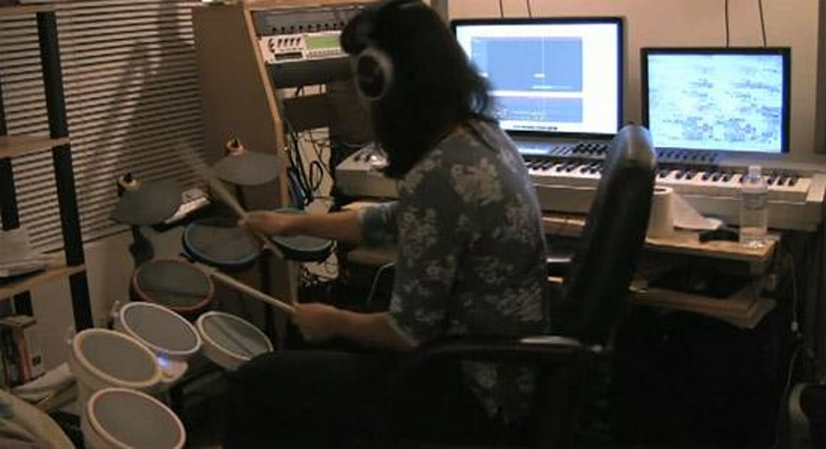 Guitar Hero and Rock Band drums combine for ultimate MIDI ...