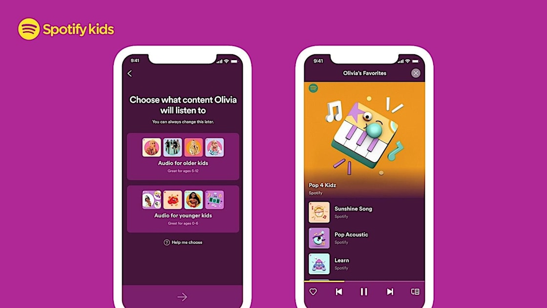 Spotify's standalone Kids app is now available in the US