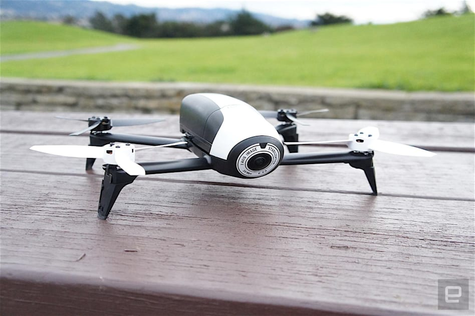 Parrot's quirky toy drones are slowly growing up