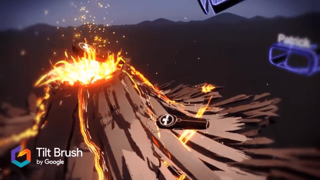 Google's VR paint game 'Tilt Brush' will get multiplayer