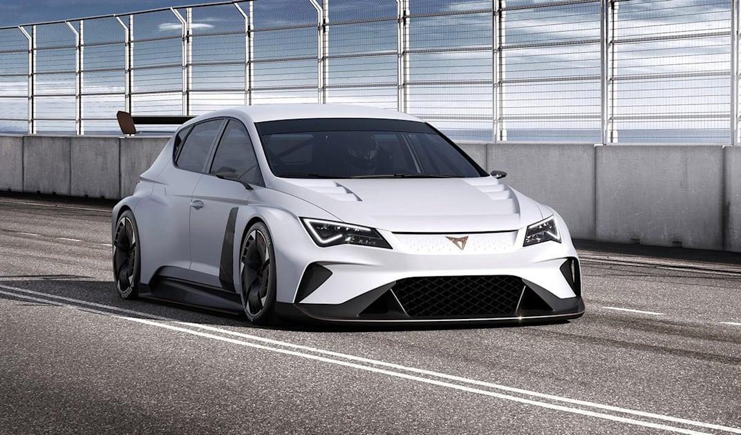 VW's Seat unveils the first fully electric touring-class race car