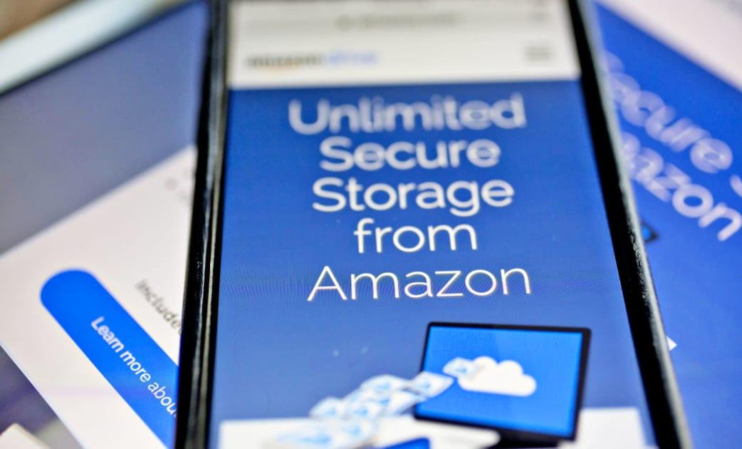 Amazon drops its unlimited cloud storage plan