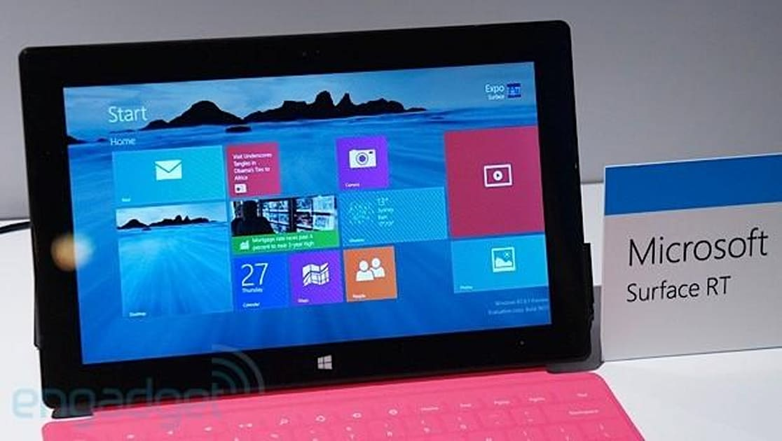 Don T Even Bother Trying To Upgrade To Windows Rt 8 1 Today Engadget