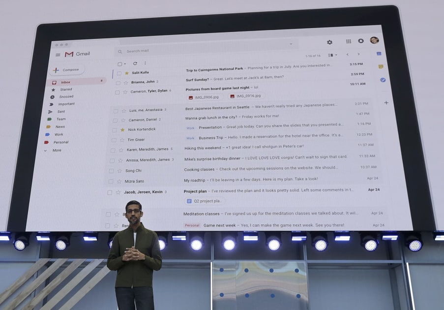 Gmail's log of all of your purchases pops up in the privacy debate
