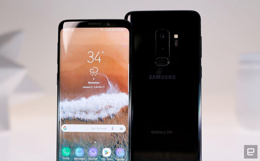 Samsung is serving Galaxy S9 owners Android Pie for Christmas