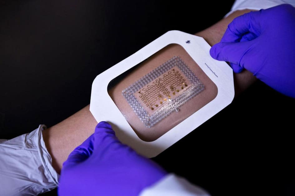 Tattoo-like electronic health patches are now easy to make